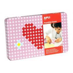 APLI Kids игра със стикери: Сърца