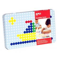 APLI Kids игра със стикери - Лодки