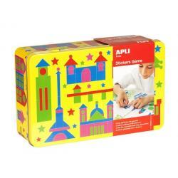 APLI Kids игра със стикери - Сгради
