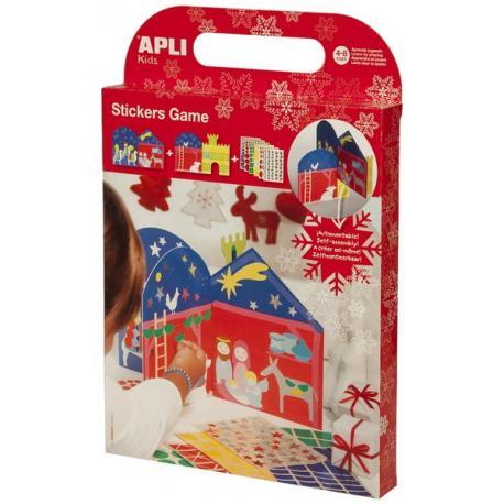 APLI Kids 13672 Сцени от Рождество Христово за декорация със стикери