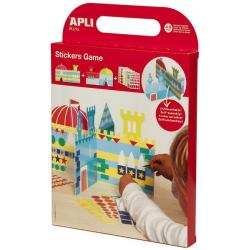 APLI Kids Игра със стикери - Замък