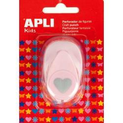 APLI 13068 Пънч Сърце, 16мм