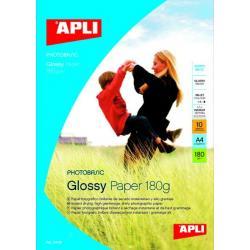 APLI 04452 Гланцирана фото хартия - 180 g/m²