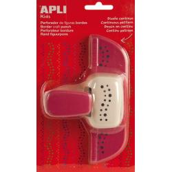 APLI 13639 Дизайнерски бордюрен пънч Точки, 45мм