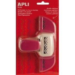 APLI 13640 Дизайнерски бордюрен пънч Цветя, 45мм