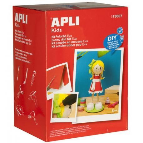 Кукла Ева - творчески комплект за ръчно изработване на кукла