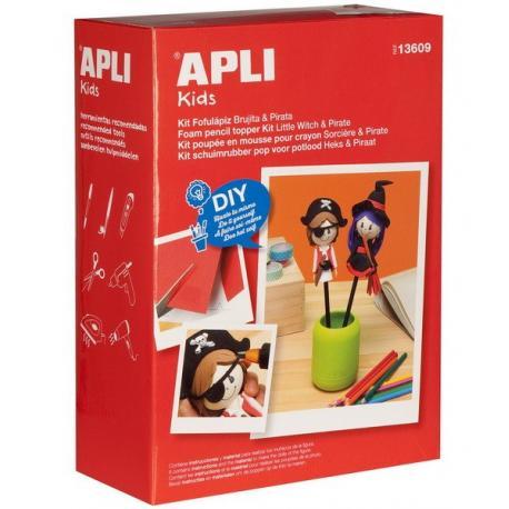Малка вещица и пират - креативен комплект за изработване на кукли