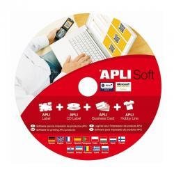 APLI Soft Pro - Безплатна програма за изработка и печат на етикети, визитки, баркод и QR код