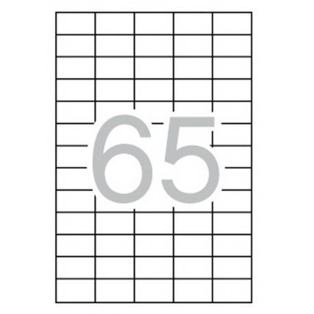 APLI 03052 презалепващи бели етикети