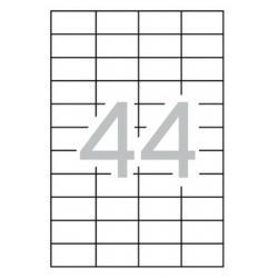 APLI 03054 презалепващи бели етикети