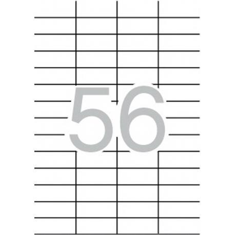 APLI 03055 презалепващи бели етикети