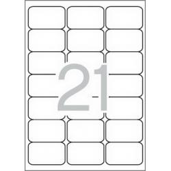 APLI 02414 бели принтерни етикети