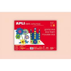 APLI Kids 12759- Крафт EVA пяна,едноцветна, цвят на кожа - 1 лист 600x400 mm
