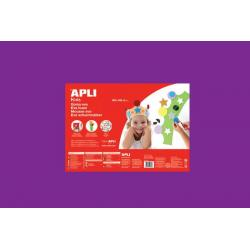 APLI Kids 13694 - Крафт EVA пяна, едноцветна, виолетова - 1 лист 600x400 mm