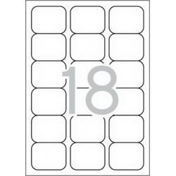APLI 02415 бели принтерни етикети