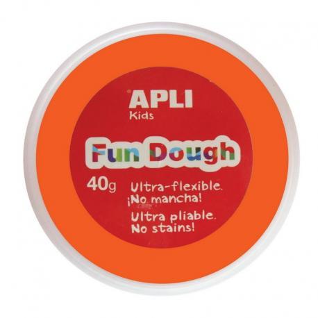 """APLI Kids Вълшебно """"тесто"""" за моделиране на фигурки за игра, декорация и украшения - комплект 1 кутия от 40 гр. - 1 цвят"""