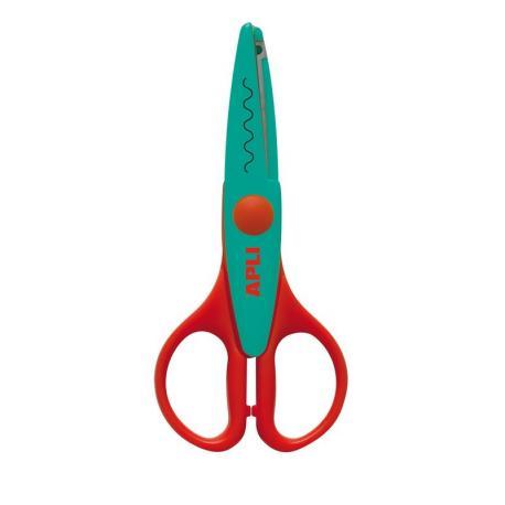 APLI Kids 12820 Ножица за декоративно рязане и приложни занимания - 13 cm