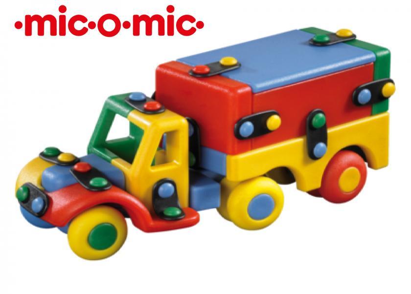 хладилен камион - сглобяем модел играчка - mic-o-mic