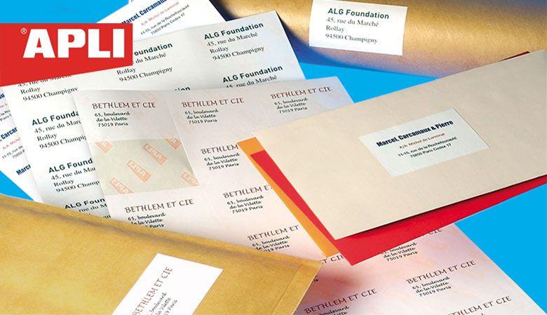 APLI етикети за всеки бизнес